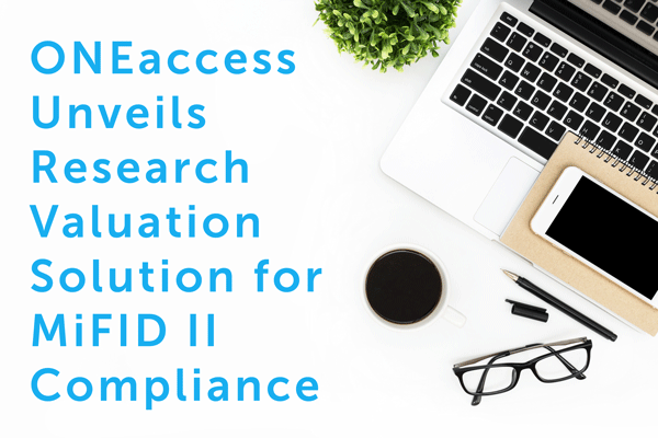 MiFID-II ONEaccess Solution PR.png